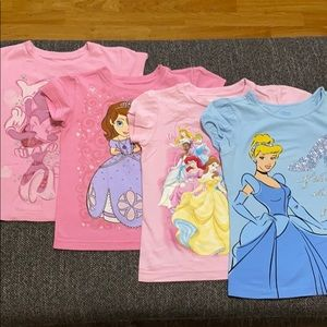 Other - Disney Princess Bundle Shirts